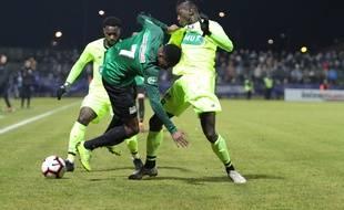 Avant sa sortie sur blessure, Aboulaye Diaby s'est mis en évidence face au Losc.