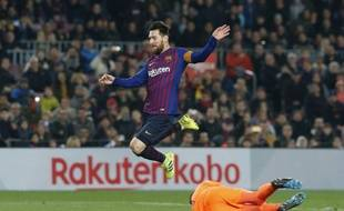 Messi face à Valladolid