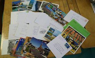 L'école Paul-Deltombe de Wargnies-le-Petit Nord) a reçu 26 courriers le 9 février