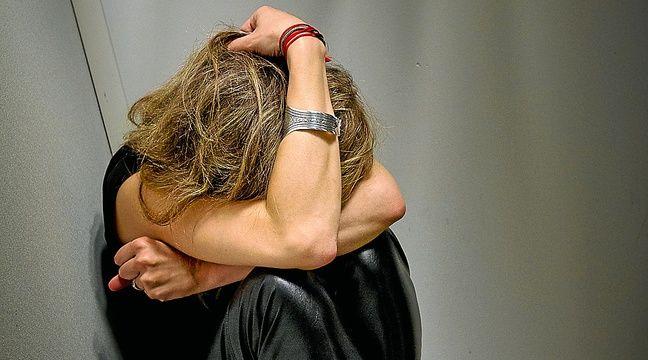 Paris le 2 octobre 2012. Illustration femme battue. Violences conjugales. – A. Gelebart; / 20 Minutes / Illustration
