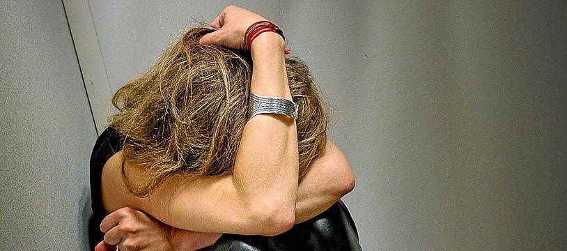 Une femme victime de violences conjugales (illustration).