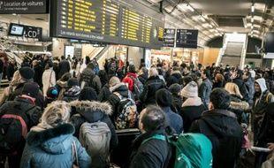 Photos d'illustration de la gare de Lyon-Part-Dieu à Lyon.