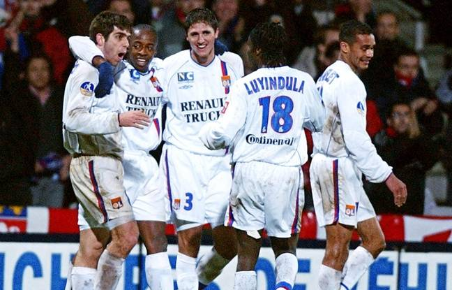 Jean-Marc Chanelet (à droite) a connu les premières grandes années lyonnaises, aux côtés de Juninho, Sidney Govou, Edmilson et Peguy Luyindula.