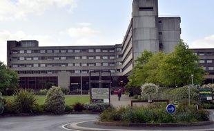 Le site de l'hôpital nord  (CHU) Laënnec à Saint-Herblain.
