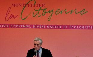 Philippe Saurel a annoncé sa candidature à sa réélection.