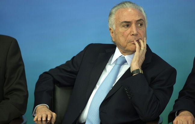 Brésil: L'ancien président, Michel Temer, arrêté dans une enquête anticorruption