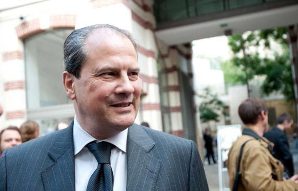 Jean-Christophe Cambadelis, député du XIXème arrondissement de Paris, Secrétaire national du PS à l'Europe et aux relations internationales. – F. DUPUY / SIPA