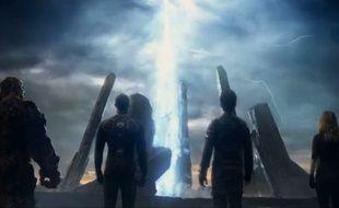 Image tirée de la bande annonce des Quatre Fantastiques