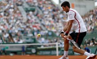 Novak Djokovic, le 26 mai 2016, à Roland-Garros.
