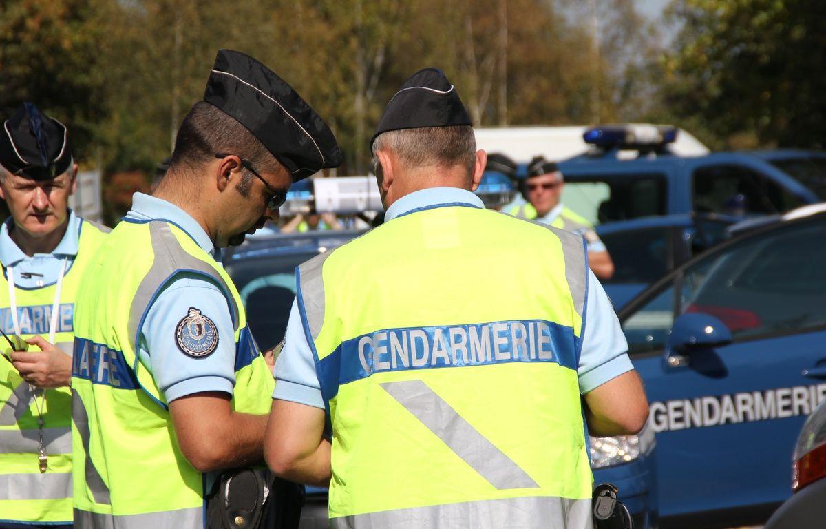 Une opération de contrôle des gendarmes sur les routes d'Ille-et-Vilaine en 2011. – C. Allain / APEI / 20 Minutes