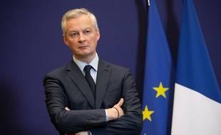 Bruno Le Maire à Bercy, le 9 juin 2020.