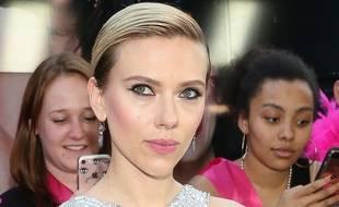 L'actrice Scarlett Johansson à New York