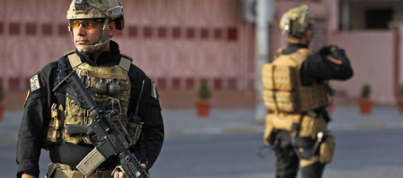 Image d'illustration des forces d'élite de la police irakienne, le 25 septembre 2017 à Bagdad.