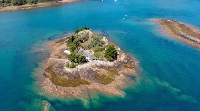 Côtes-d'Armor : Une île privée avec « maison vue mer » à vendre près de Paimpol