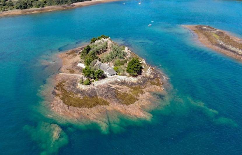 Bretagne : Une île privée à vendre pour 1,7 million d'euros
