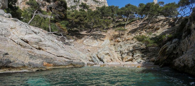 Le parc national des Calanques, à Marseille, en avril 2020 (illustration)