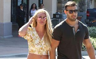 La chanteuse Britney Spears et son compagnon, le coach sportif Sam Asghari.