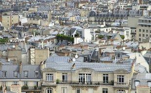 Photo d'illustration d'immeubles à Paris.