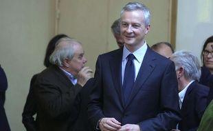 Bruno Le Maire à Paris le 27 novembre 2016.