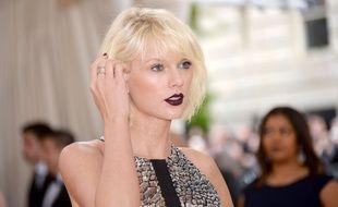 Taylor Swift à l'ouverture de l'exposition «Manus x Machina» à New York le 2 mai 2016