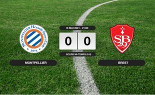 Montpellier - Stade Brestois: Match nul entre Montpellier et le Stade Brestois (0-0)