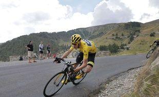 Christopher Froome sur le Tour de France le 22 juillet 2015.