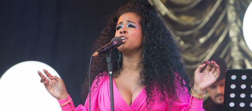 La chanteuse Kelis