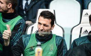 Gianluigi Buffon reste.
