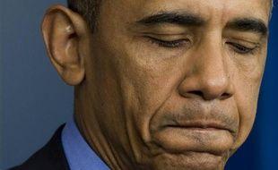 Barack Obama s'adresse aux Américains le 18 juin 2015 à Washington, après la tuerie raciste de Charleston