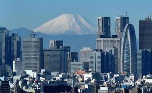 Vue de Tokyo le 6 décembre 2014