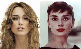 Keira Knightley vs Audrey Hepburn, le starclash