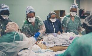 Covid-19: la décrue se poursuit à l'hôpital (Illustration)