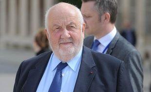 Le maire de Nancy André Rossinot, le 14 septembre 2013.