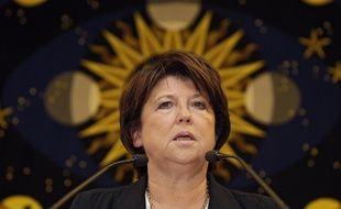 Martine Aubry, maire (PS) de Lille.
