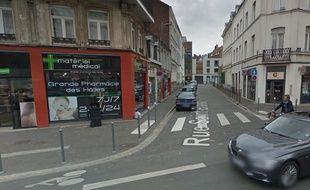 Angle des rues Solférino et Saint-Blaise à Lille