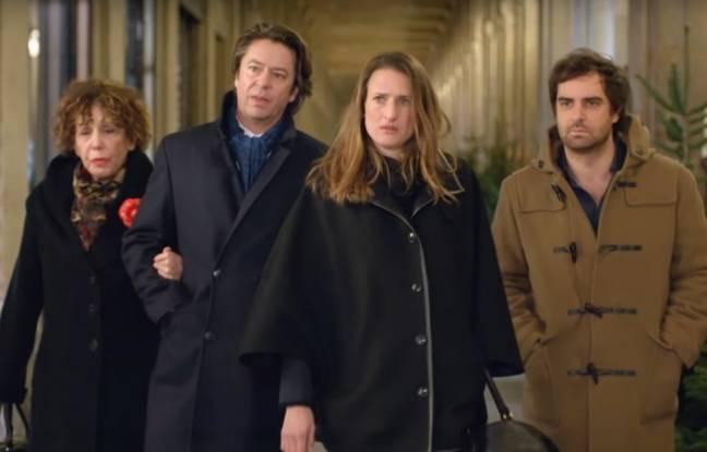 Extrait du générique de la série française «Dix pour cent» créée par Fanny Herrero et diffusée sur France 2
