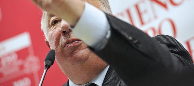 Le président du Sénat Gérard Larcher. (Illustration)