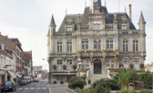 La mairie d'Hénin-Beaumont.
