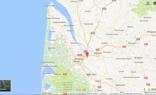 Le village de Pompignac, à l'est de Bordeaux.