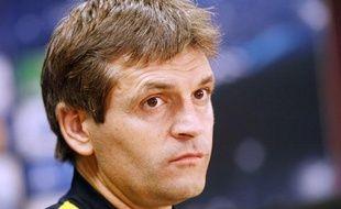 L'entraîneur de Barcelone Tito Vilanova, le 4 décembre 2012