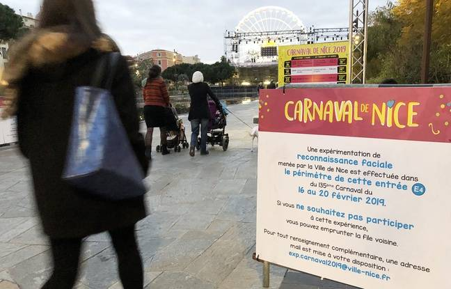 VIDEO. Nice: La reconnaissance faciale testée sur la voie publique, au Carnaval, une première en France