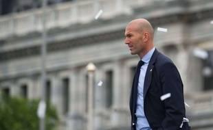 Zinédine Zidane a annoncé son départ du Real Madrid, le 31 mai 2018.