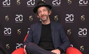 Arthur H dans le studio de 20 Minutes, le 24 janvier 2018