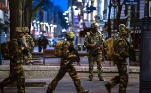 Opération antiterroriste à Saint-Denis le 18 novembre 2015.
