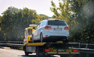 La loi encadre strictement les opérations de dépannage sur l'autoroute.