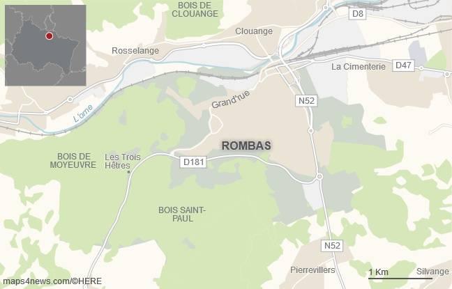 La commune de Rombas, en Moselle.