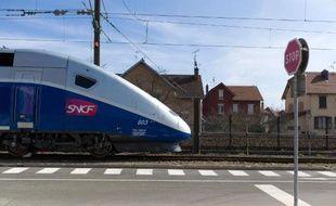Un TGV opéré par la SNCF à Belfort
