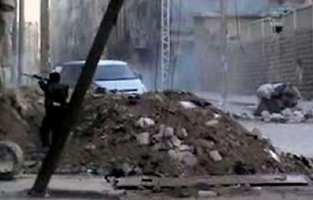 La bataille fait rage entre les troupes syriennes et les rebelles pour le contrôle d'Alep, la deuxième ville de Syrie, des informations contradictoires circulant sur l'évolution des combats. –  afp.com