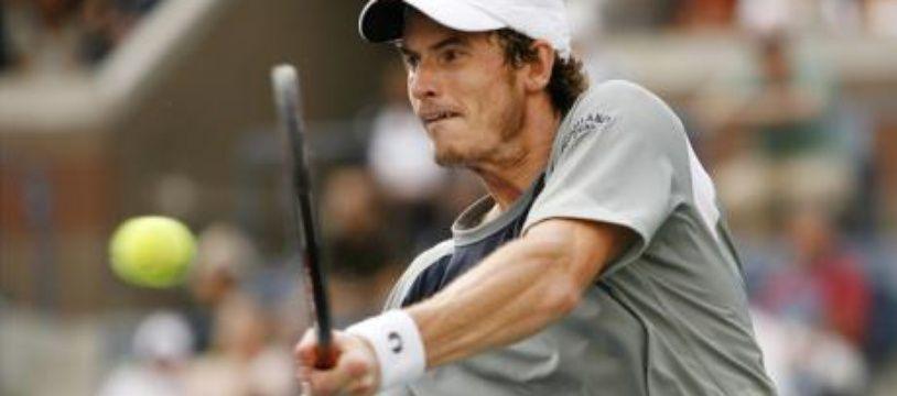 Andy Murray à l'US Open le 3 septembre 2008.
