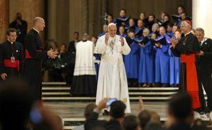 Le pape François à Washington, le 23 septembre 2015